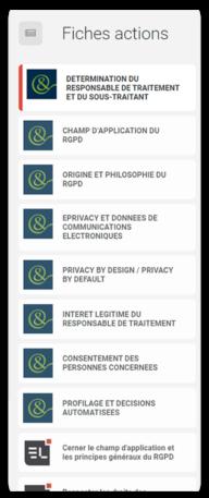 Retrouvez des fiches pratiques RGPD rédigées par les Editions Législatives et le cabinet d'avocat Staub & Associés