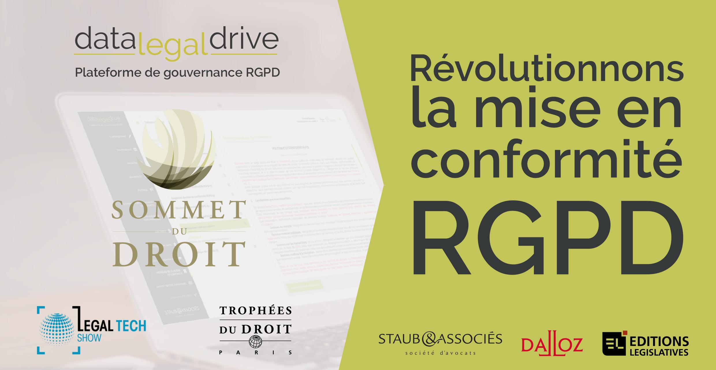 Data Legal Drive au Sommet du Droit : Révolutionnons la mise en conformité RGPD