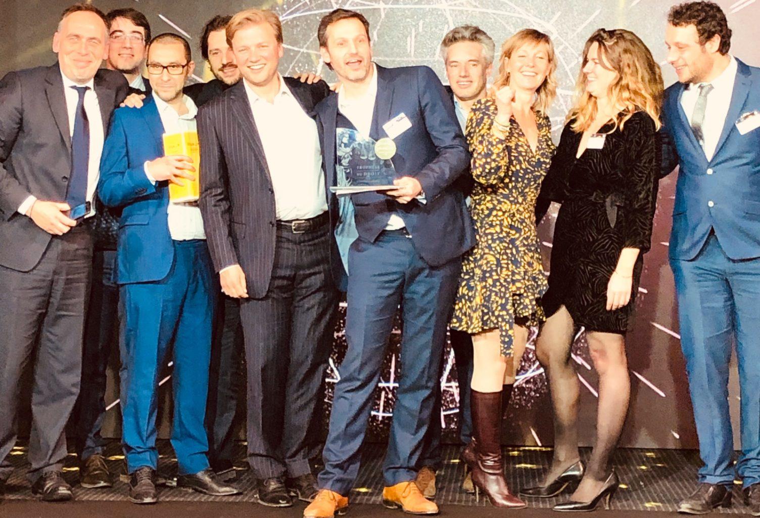 DATA LEGAL DRIVE remporte les trophées du droit 2019