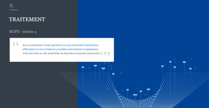 Traitement de données personnelles - MOOC CNIL 2019