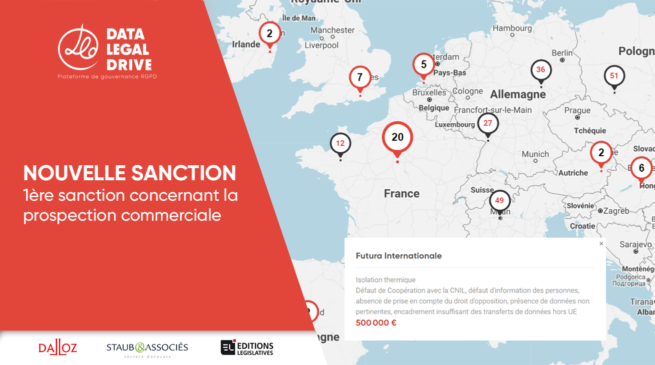 Futura Internationale, 1ère sanction concernant la prospection commerciale