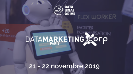 Data Legal Drive au salon Data Marketing Paris