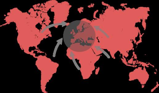 RGPD qui est concerné ? Les entreprises du monde entier