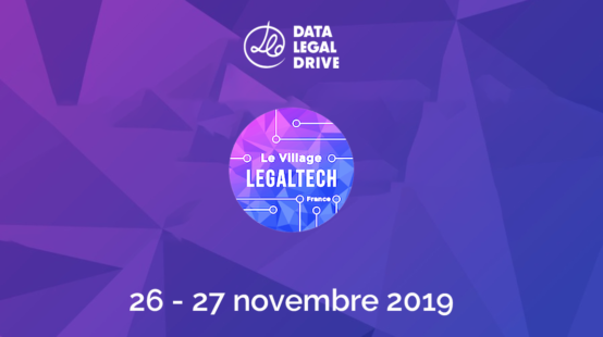 Data Legal Drive au 4è Village de la LegalTech