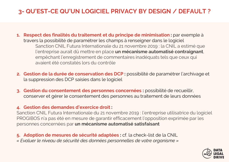 Qu'est-ce qu'un logiciel Privacy by Design