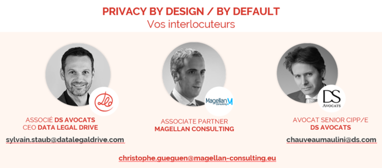 Intervenants au compliance breakfast TECH'IN France - DATA LEGAL DRIVE 23/01/2020