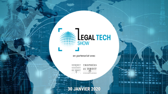 Data Legal Drive participe au Legal Tech Show 2020 le 30 janvier