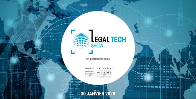 Data Legal Drive participe au Legal Tech Show 2020 le 30 janvier