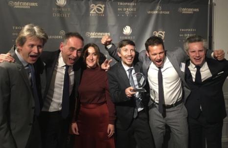 DATA LEGAL DRIVE remporte le trophée d'argent aux Trophées du Droit