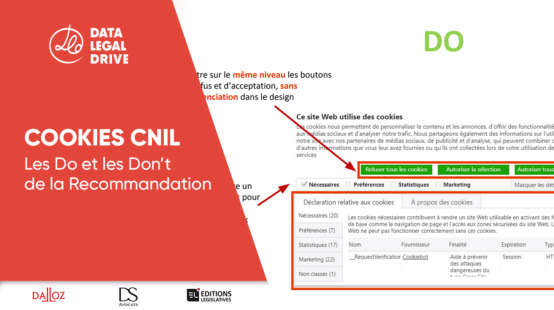 Recommandation cookies de la CNIL : Que faut-il faire ?