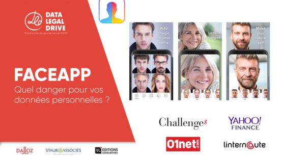 Sylvain Staub Interviewé par Challenges, Yahoo, 01net sur le sujet de Faceapp