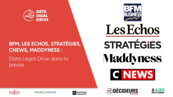 RGPD 1 an après - Les Echos, BFMTV, Stratégies, Maddyness, CNEWS