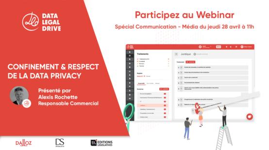 Participez au Webinar Spécial mise en conformité pour entreprises com/média