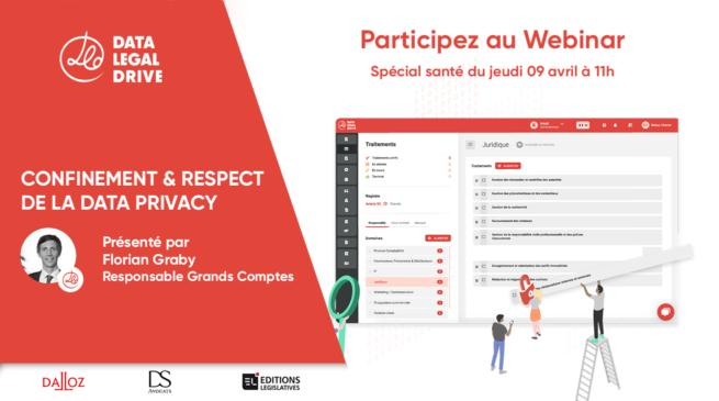Participez au Webinar Spécial mise en conformité spécial santé