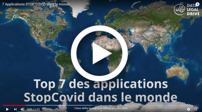 Vidéo top 7 des applications contre le coronavirus dans le monde